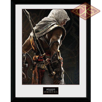 Framed Poster - Assassins Creed Origins Synchronization (30 X 40 Cm) Posters