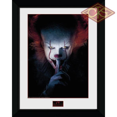 Framed Poster - It Pennywise (Finger) (45 X 34 Cm) Posters