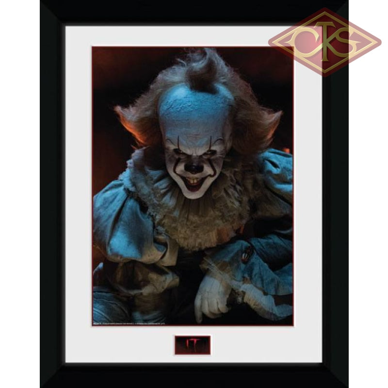 Framed Poster - It Pennywise (Smile) (45 X 34 Cm) Posters