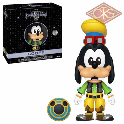 Funko 5 Star - Disney Kingdom Hearts Goofy Figurines