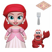 Funko 5 Star - Disney The Little Mermaid Princess Ariel & Sebastian Figurines