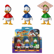 Funko Action Figure - Disney Duck Tales Huey Dewey & Louie (Eccc 2019) Exclusive Figurines