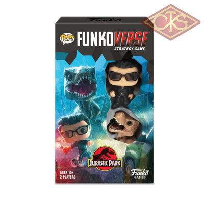Funko Game - Jurassic Park Board + 2 Character *english Version*