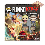 Funko Game - Jurassic Park Board + 4 Character *english Version*