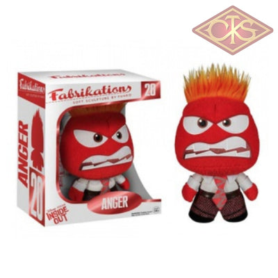 Funko Plush - Disney Inside Out Anger (15Cm) Figurines