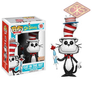 Funko Pop! Books - Dr. Seuss Cat In The Hat (Umbrella) (10) Figurines
