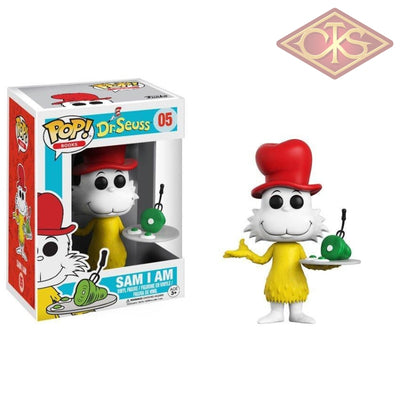 Funko Pop! Books - Dr. Seuss Sam I Am (Flocked) (05) Figurines