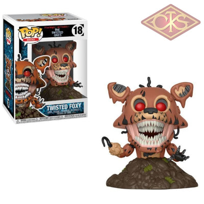 Funko Pop! Books - Five Nights At Freddy:  The Twisted Ones Foxy (18) Figurines