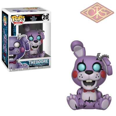 Funko Pop! Books - Five Nights At Freddys:  The Twisted Ones Theodore (20) Figurines