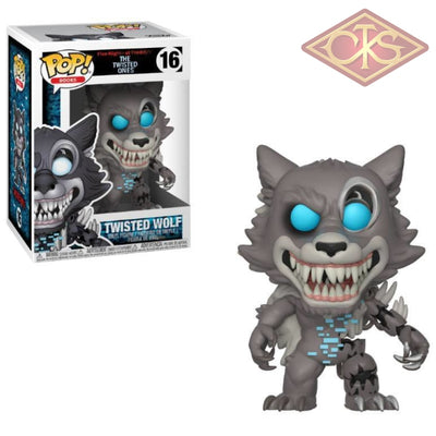 Funko Pop! Books - Five Nights At Freddys:  The Twisted Ones Wolf (16) Figurines