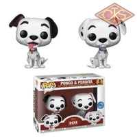 Funko POP! Disney - 101 Dalmatins - Pongo & Perdita (2 Pack) Exclusive