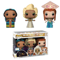 Funko Pop! Disney - A Wrinkle In Time Mrs. Who / Which Whatsit (3Pack) Figurines