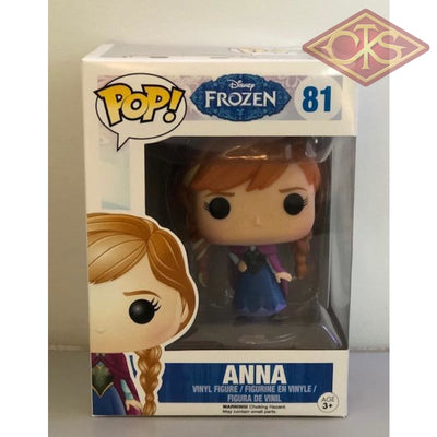 Funko Pop! Disney - Frozen Anna (81) Damaged Packaging Figurines