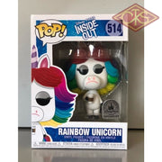 Funko Pop! Disney - Inside Out Rainbow Unicorn (514) Damaged Packaging Figurines