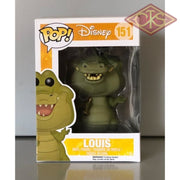 Funko Pop! Disney - The Princess & Frog Louis (151) Damaged Packaging Figurines