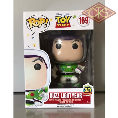 Funko Pop! Disney - Toy Story- Buzz Lightyear (20Th Anniversary) (169) Damaged Packaging Figurines