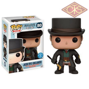 Funko Pop! Games - Assassins Creed Syndicate Jacob Frye (Uncloaked) (80) Exclusive Figurines