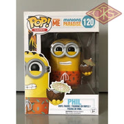 Funko Pop! Games - Despicable Me Minions Paradise Phil (120) Damaged Packaging Figurines