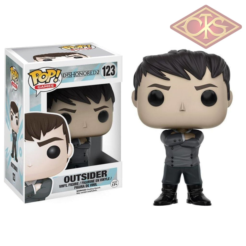 Funko Pop! Games - Dishonored 2 Outsider (123) Figurines