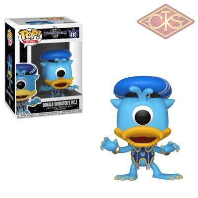 Funko Pop! Games - Disney:  Kingdom Hearts 3 Donald (Monsters Inc.) (410) Figurines