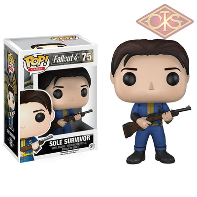 Funko Pop! Games - Fallout 4 Sole Survivor (75) Figurines