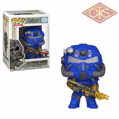 Funko Pop! Games - Fallout T-51 Power Armor (370) Exclusive Figurines