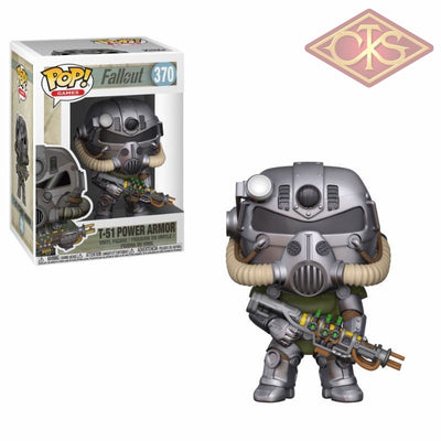 Funko Pop! Games - Fallout T-51 Power Armor (370) Figurines