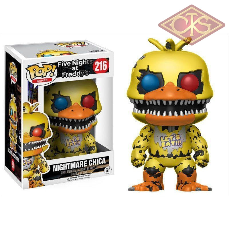 Funko Pop! Games - Five Nights At Freddys Nightmare Chica (216) Figurines