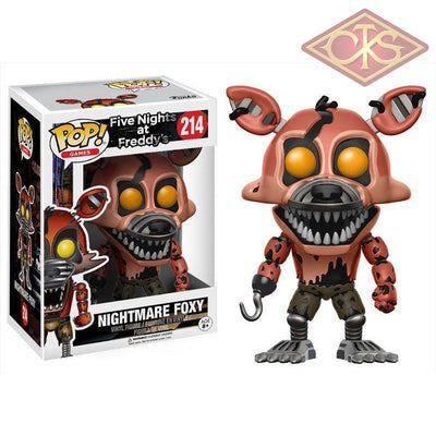 Funko Pop! Games - Five Nights At Freddys Nightmare Foxy (214) Figurines