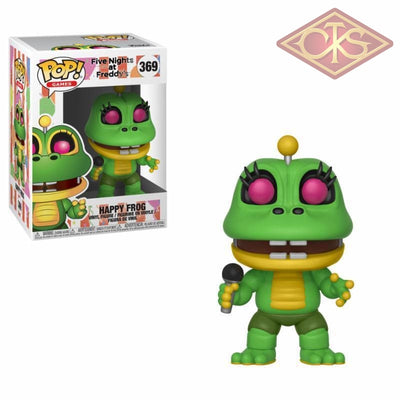 Funko Pop! Games - Five Nights At Freddys:  Pizza Simulator Happy Frog (369) Figurines