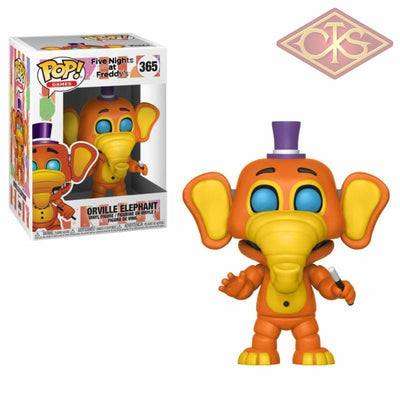 Funko Pop! Games - Five Nights At Freddys Pizza Simulator Orville Elephant (365) Figurines