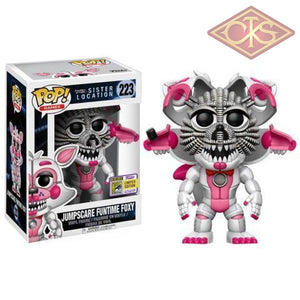 Funko Pop! Games - Five Nights At Freddys Sister Location Jumpscare Funtime Foxy (Sdcc 2017) (223)