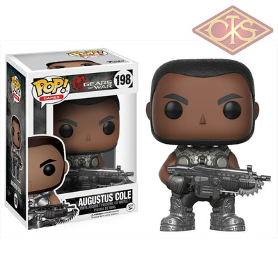 Funko Pop! Games - Gears Of War Augustus Cole (198) Figurines