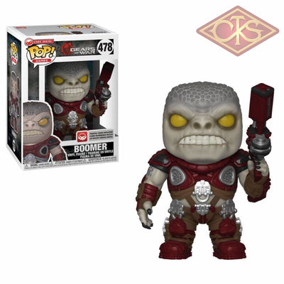 Funko Pop! Games - Gears Of War Boomer (478) Figurines