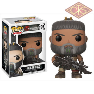 Funko Pop! Games - Gears Of War Oscar Diaz (195) Figurines