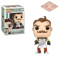 Funko Pop! Games - Hello Neighbor The W/ Apron & Cleaver (265) Exclusive Figurines