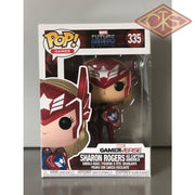 Funko Pop! Games - Marvel Future Fight Sharon Rogers (As Captain America) (335) Damaged Packaging