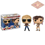 Funko Pop! Games - Marvel Vs Capcom Infinite Captain Chun-Li (2Pack) Figurines