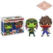 Funko Pop! Games - Marvel Vs Capcom Infinite Gamora Strider (2Pack) Figurines