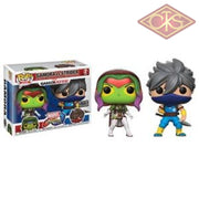 Funko Pop! Games - Marvel Vs Capcom Infinite Gamora (White) Strider (Blue) (Player 2) (2Pack)