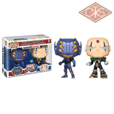 Funko Pop! Games - Marvel Vs Capcom Infinite Ultron Sigma (2 Pack) Figurines