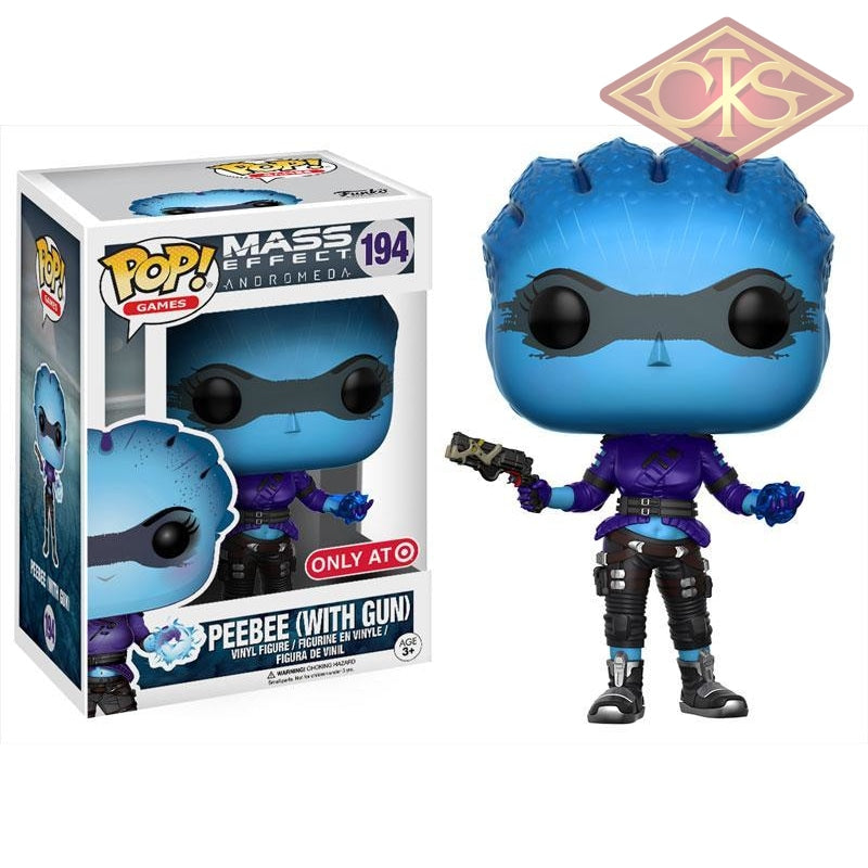 Funko Pop! Games - Mass Effect Andromeda Peebee (W/ Gun) (194) Figurines