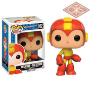 Funko Pop! Games - Mega Man Fire Storm (102) Figurines