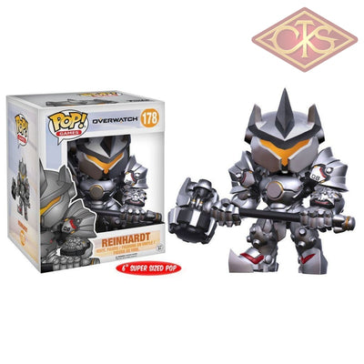 Funko Pop! Games - Overwatch Reinhardt 6 (178) Figurines