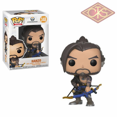 Funko Pop! Games - Overwatch S4 Hanzo (348) Figurines