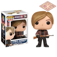 Funko Pop! Games - Resident Evil Leon S. Kennedy (156) Figurines
