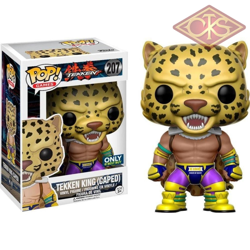 Funko Pop! Games - Tekken King (Caped) (207) Exclusive Figurines