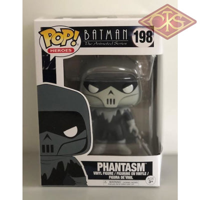 Funko Pop! Heroes - Batman The Animated Series Phantasm (198) Damaged Packaging Figurines
