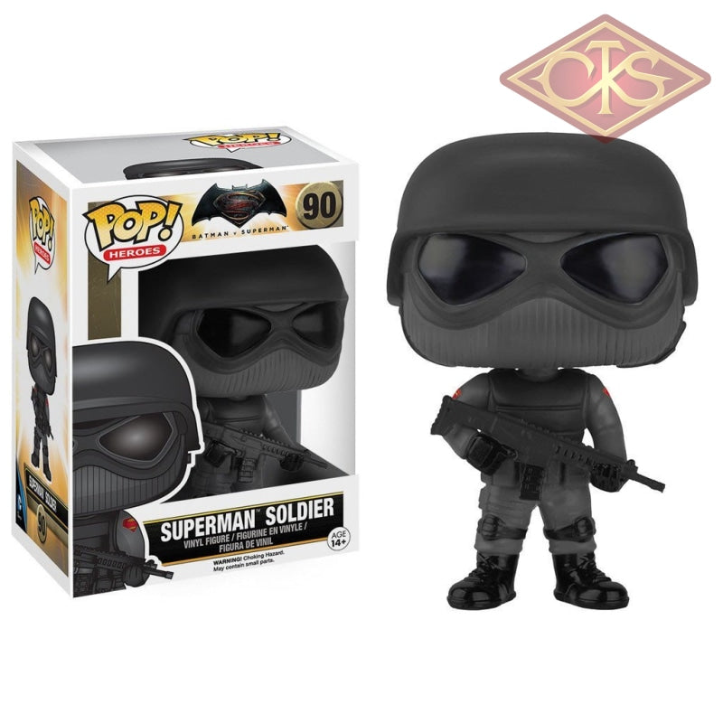 Funko Pop! Heroes - Batman V Superman Soldier (90) Figurines