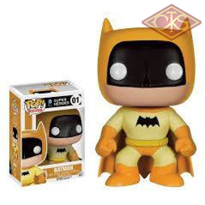 Funko Pop! Heroes - Dc Super Batman (Yellow) (01) Exclusive Figurines